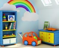 комната s мальчика Стоковые Изображения RF