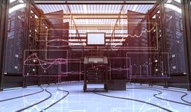 Комната Techno стоковые фотографии rf