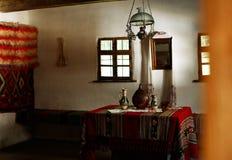 Комната tradtiotional в Трансильвании стоковые фото