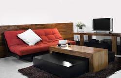 комната tv Стоковая Фотография RF