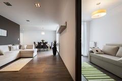 2 комнаты современных дизайна Стоковое фото RF
