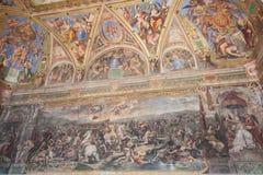 Комнаты Raphael стоковая фотография rf