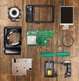 Компактная цифровая камера фото Стоковое Изображение RF