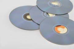 компактные диски Стоковые Изображения