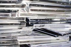 компактные диски Стоковая Фотография RF