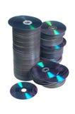 Компактные диски Стоковая Фотография