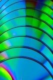 компактный диск закрывает текстуру вверх Стоковая Фотография RF