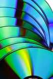 компактный диск закрывает текстуру цвета полную вверх Стоковые Изображения RF