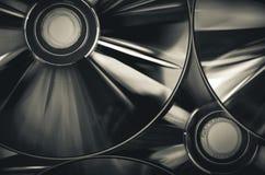 КОМПАКТНЫЙ ДИСК или компактный диск Стоковая Фотография RF