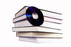 компактный диск книги Стоковые Изображения RF