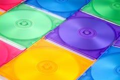 компактный диск коробки Стоковое Фото