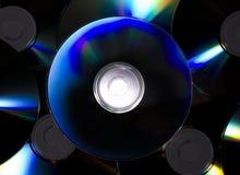 компактный диск немногий s стоковое изображение