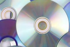 компактный диск предпосылки Стоковое Изображение