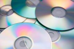 компактный диск предпосылки Стоковая Фотография