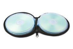 компактный диск случая Стоковое Фото