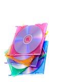 компактный диск случая Стоковое Изображение RF