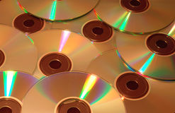компактный диск s Стоковые Фотографии RF