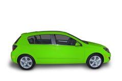 компактный зеленый гибрид стоковое изображение