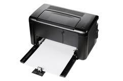 Компактный изолированный принтер Стоковые Фото
