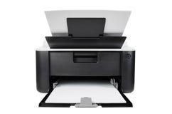 Компактный изолированный принтер Стоковое фото RF