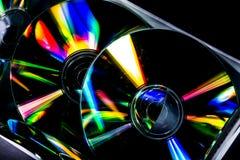 Компактный диск и отражение Стоковое фото RF
