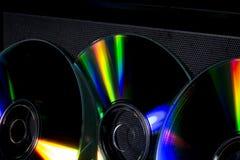 Компактный диск и отражение Стоковое Фото