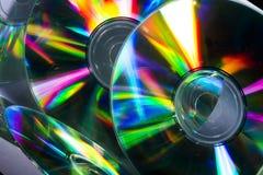 Компактный диск и отражение Стоковая Фотография