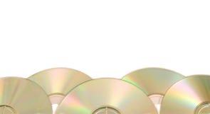 компактный диск граници Стоковые Изображения