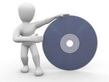 компактный диск borko Стоковое Изображение