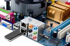 компактный usb блока памяти данным по привода Стоковая Фотография