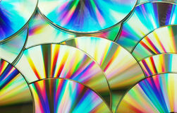 компакты-диски Стоковая Фотография RF