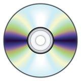 компакт-диск иллюстрация вектора
