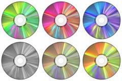 Компакт-диски Стоковое Фото