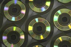 Компакт-диск визитной карточки Стоковые Фотографии RF