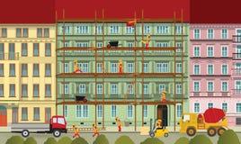 Компания здания иллюстрация вектора