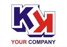 Компания логоса Стоковые Изображения RF