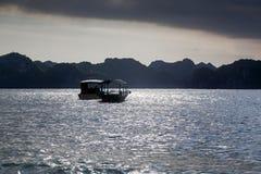 компасная площадка суда в заливе Lan Ha, southestern часть залива долготы Ha, Стоковая Фотография