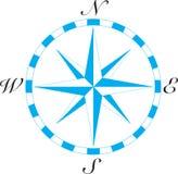 компас искусства стоковое изображение