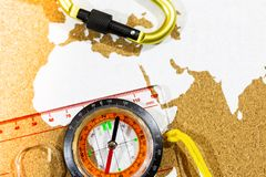 Перемещение к Африке стоковые фото
