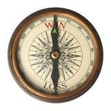 компас направляет успех для того чтобы выиграть Стоковое Изображение RF