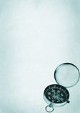 компас открытый стоковая фотография rf