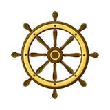 Компас при роза ветра изолированная на белой предпосылке Символ навигации бесплатная иллюстрация