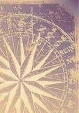 компас старый Стоковая Фотография