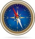 Компас с windrose Стоковое Изображение