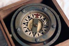 компас Стоковая Фотография RF