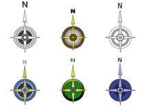 компас Стоковые Фотографии RF