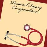 Компенсация личной травмы иллюстрация штока