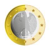 компенсация немца евро e Стоковая Фотография