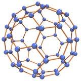 комплексная молекула Стоковая Фотография