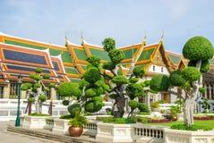 Комплексы виска в Таиланде Буддийские виски в Бангкоке стоковое изображение rf